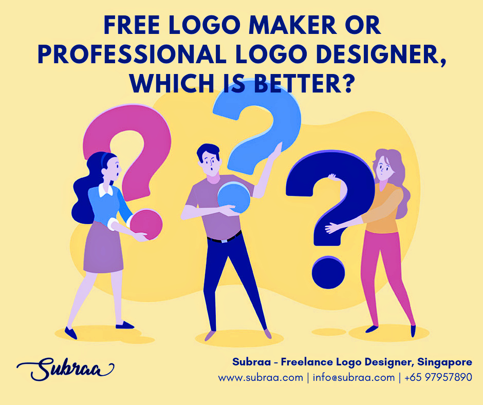 Free logo maker or professional logo designer - by Subraa
