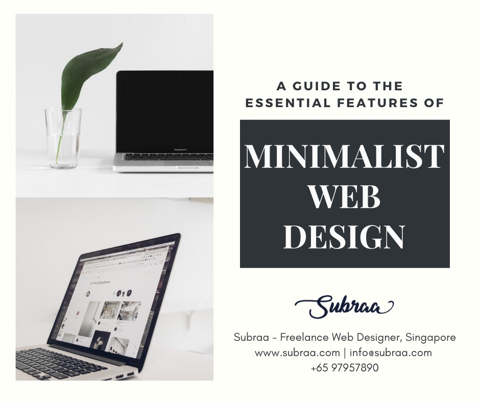 Minimalist Web Design Tips