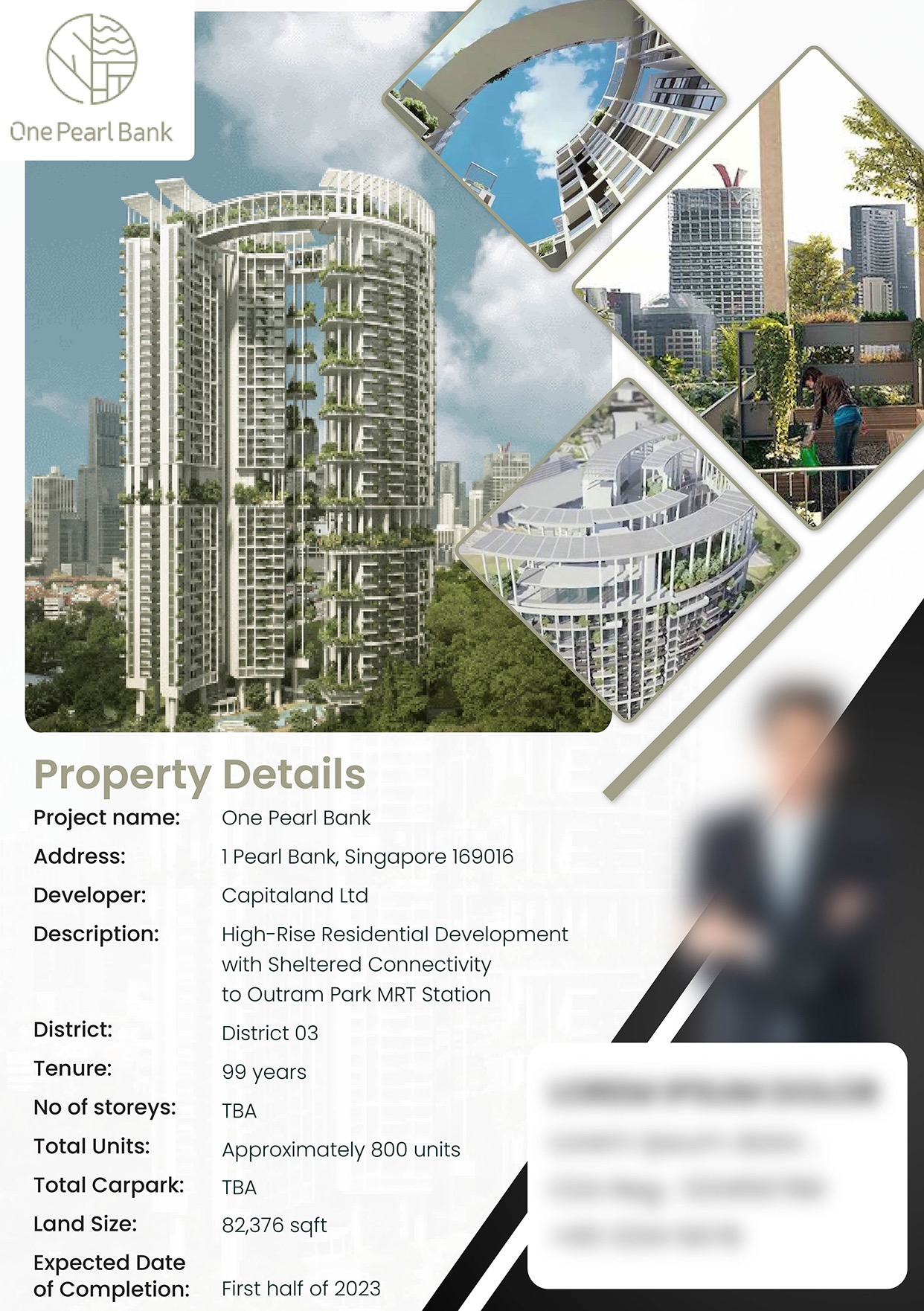 Property Flyer Design Singapore for Real Estate Agent