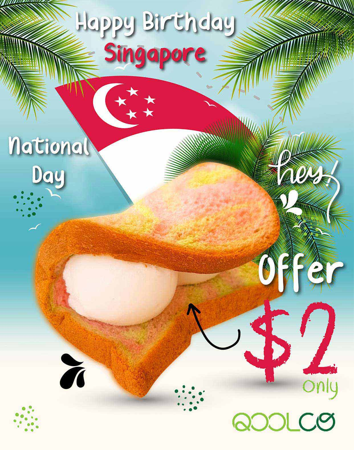 Flyer Design for Singapore National Day Celebration