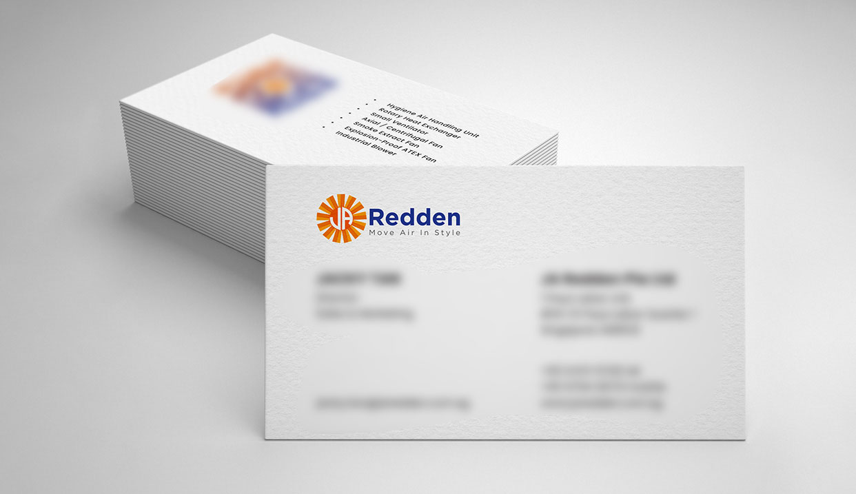 Name Card Design for Industry