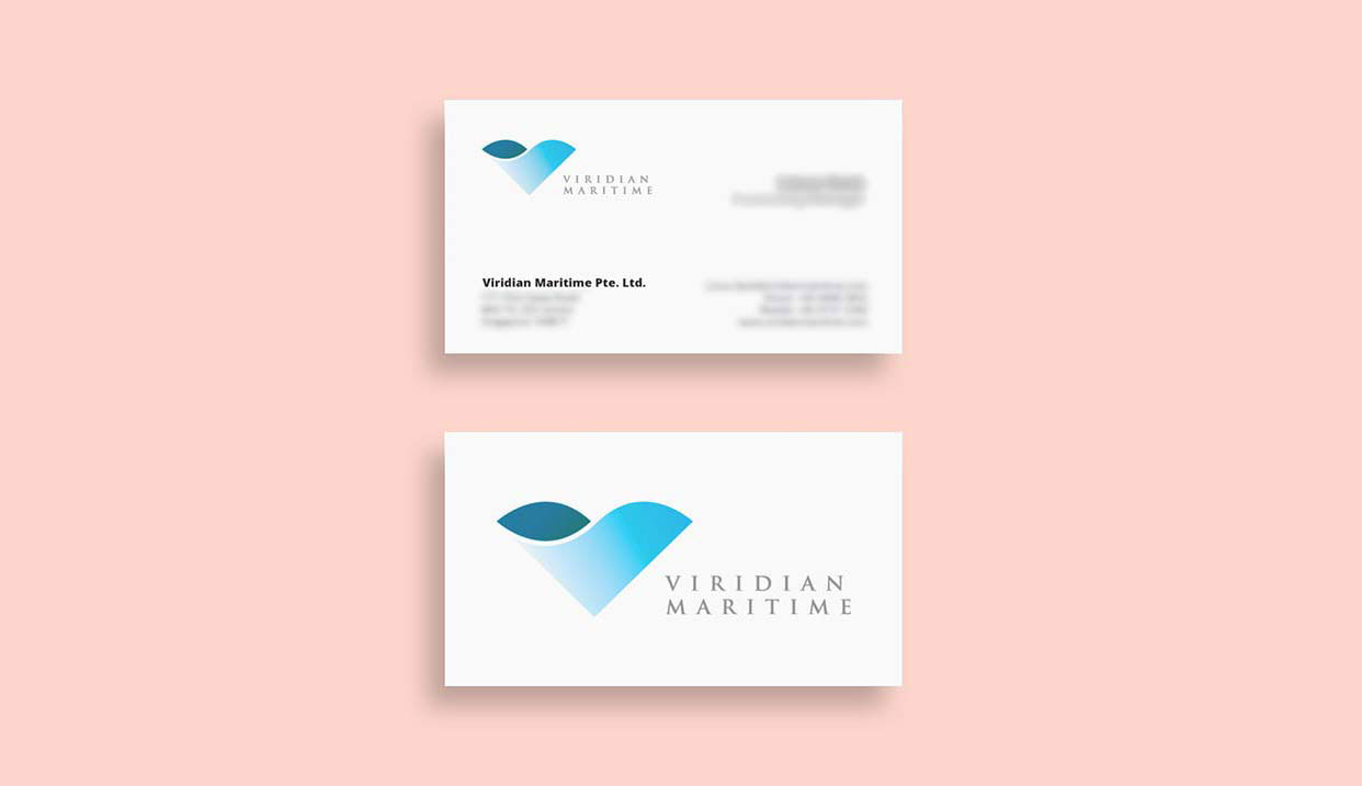 Name Card Design for Maritime