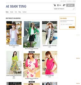 WordPress eCommerce Website Design and Development for Fashion Store in Singapore
